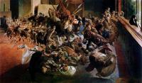 Melancholia i muzeum – projekt fresku